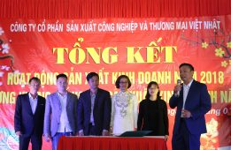 Year-end ceremony of Viet Nhat Corporation 2018