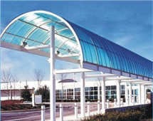Smart roofing application POLYCARBONATE